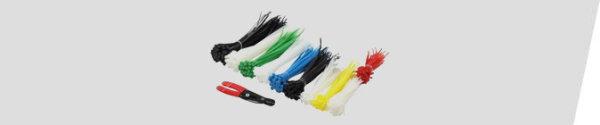 Kabelbinder / Schutzhüllen