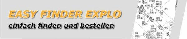 74054-4 Ford Fiesta ST Rally Explosionszeichnung Traxxas
