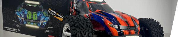 Traxxas Rustler 4x4 VXL Projektumbau (Beleuchtung und Dreckschutz)