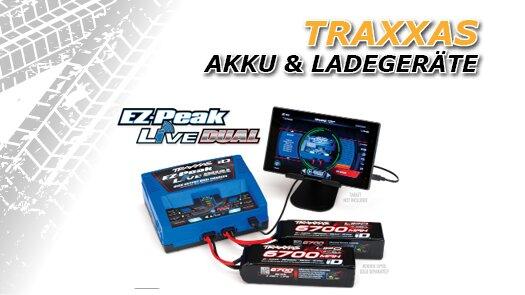 Traxxas Akku und Ladegeräte