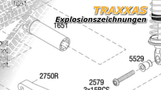 Traxxas Explosionszeichnungen