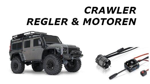 Crawler - Regler & Motoren