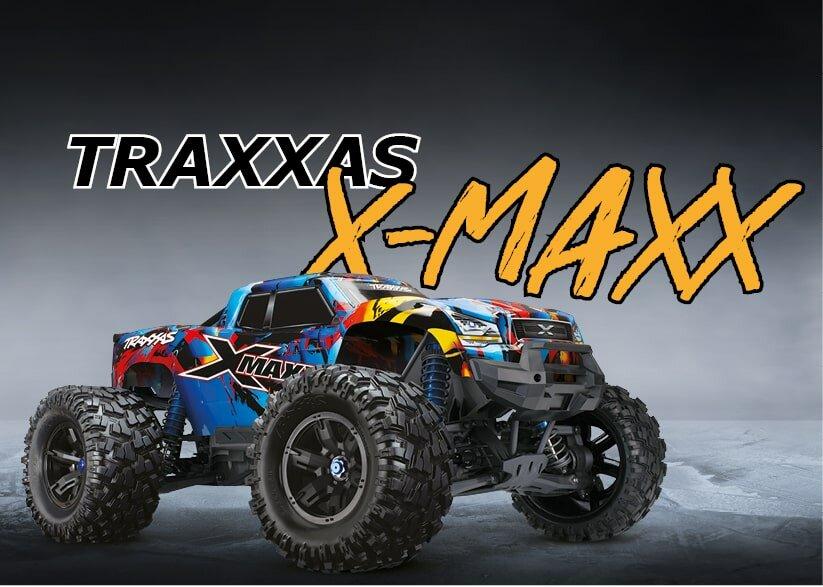 TRAXXAS X-MAXX  bei Monster-Hopups