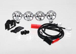 Traxxas TRX6784 LED Lichtbalken Chrom für...