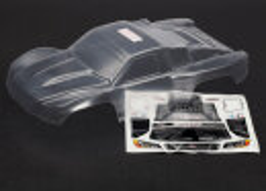 Traxxas TRX6811 Karosserie unlackiert für Slash 2WD,...