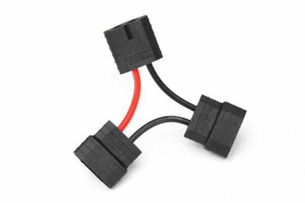 Traxxas TRX3063X Y-Kabel iD-Anschluss seriell von 2 Akkupacks 1-16 Modelle