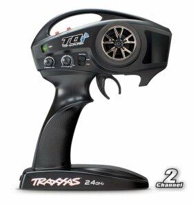 Traxxas TRX57046-4 M41 Widebody Brushless Rennkatamaran RTR TQi Wireless TSM-Version