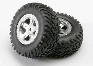 Traxxas Reifen auf Felge montiert hint Slayer (2 Stk.)