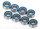 Traxxas TRX7019R Kugellager, blaue Dichtung (4x8x3mm) (8)