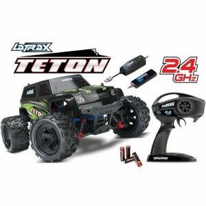 Traxxas TRX76054-1 LaTrax Teton 1-18 4WD Elektro Monstertruck 2.4 GHz inkl. Akku-Ladegerät