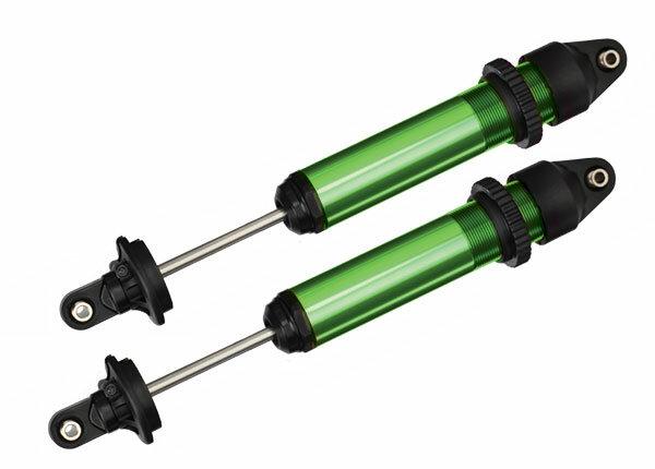 Traxxas TRX7761G Dämpfer GTX Alu grün-eloxiert 2 Stk. + Öl (kpl montiert ohne Federn)