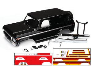 Traxxas TRX8010X Karo Ford Bronco schwarz (lackiert inkl...