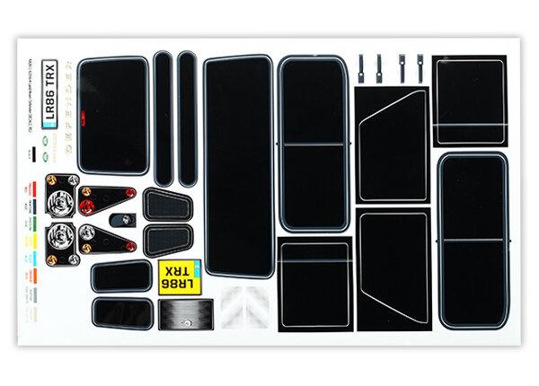 TRX-4 LED light kit Z-TRX8089 Traxxas 4-in-2 wire harness