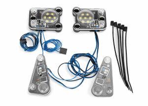 Traxxas TRX8027 LED HEADLIGHT/TAIL Licht KIT (für...