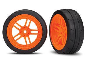Traxxas TRX8373A Reifen auf Felgen verklebt Split-Spoke...