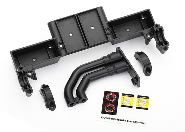 Traxxas TRX8420 Chassis Tray, Antriebswelle clamps, Fuel...