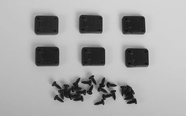 RC4WD VVV-C0453 Rubber Door Hinges for Traxxas TRX-4