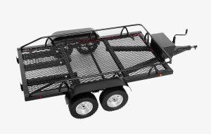 RC4WD Z-H0003 BigDog 1/10 Doppelachsanhänger Scale...
