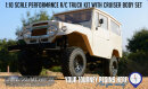 RC4WD Z-K0051 Gelande II Truck Kit w-Cruiser Karosserie Set