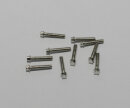 RC4WD Z-S0622 Mini Scale Hex Bolzen (M2 x 10mm) (Silber )