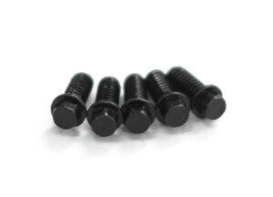 RC4WD Z-S0625 Mini Scale Hex Bolzen (M2 x 5mm) (Black)