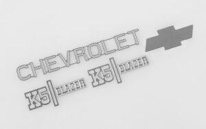 RC4WD Z-S1560 Chevrolet Blazer Metal Emblem Set
