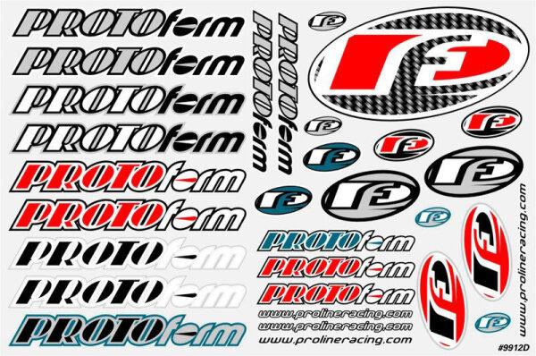 Proline PROTOform Team Sticker Rd&B 9912-39
