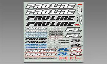 Proline Team Sticker B&W 9915-33