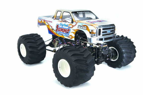 RC4WD Z-T0018 B and H Monster Truck Clod Reifen 2 Stk.