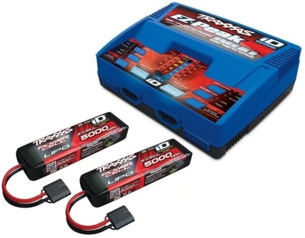 Traxxas TRX2990GX POWER PACK Dual EZ-Peak Plus Ladegerät...