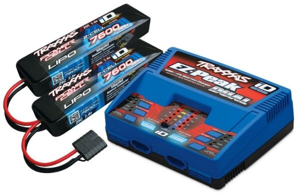 Traxxas TRX2991GX POWER PACK Dual EZ-Peak Plus Ladegerät...