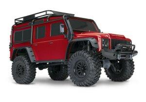 Traxxas 82056-4 TRX-4 Land Rover Defender Grau 1:10 4WD...
