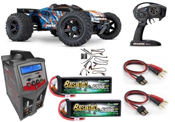 Traxxas 86086-4 Sparset 3 E-Revo V2 Brushless 4WD 2.4GHz TQi Wireless TSM
