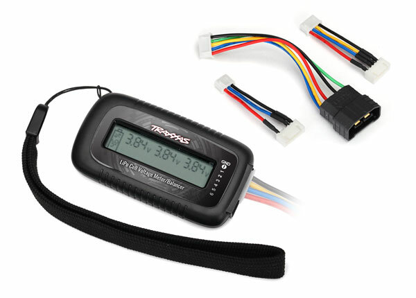 Traxxas TRX2968X LiPo cell voltage checker/balancer...