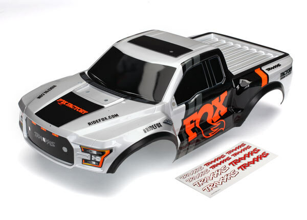 Traxxas TRX5826T Karosserie Ford Raptor Fox (Heavy Duty)...