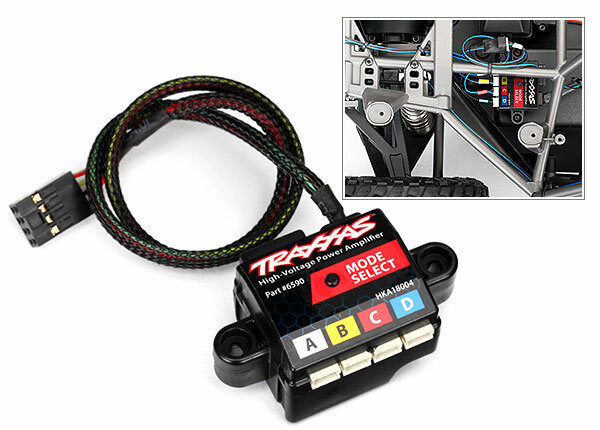 Traxxas TRX6590 High-Voltage Power-Verstärker 8Kanal