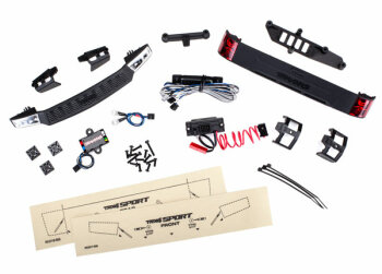 Traxxas TRX8085 LED Licht-Kit komplett mit Powersupply...