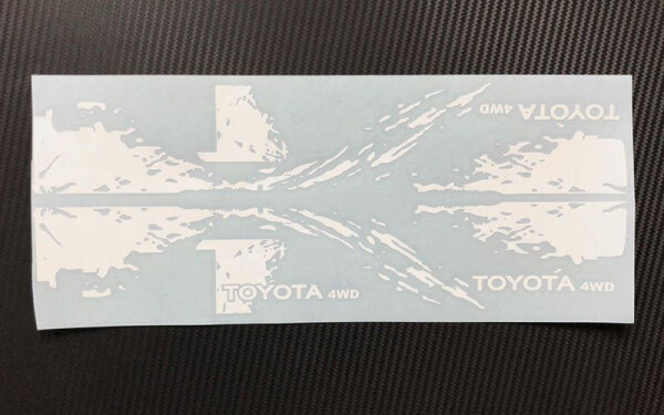 RC4WD Z-B0203 Dirty Stripes für Mojave II 2/4 Türer Decal...