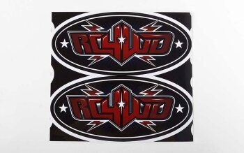 RC4WD Z-L0208 Logo Decal Sheets (6 Zoll)