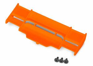 Traxxas TRX6721T Heckspoiler Flügel Rustler 4X4 orange