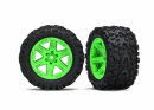 Traxxas TRX6773G Reifen auf Felge 2.8 RXT grün /...