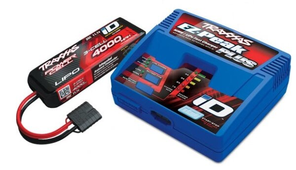 Traxxas TRX2994GX POWER PACK EZ-Peak Plus Ladegerät + 1x...