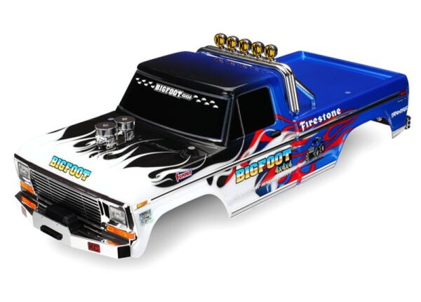 Traxxas TRX3653 Karosserie Bigfoot Flame Officially...