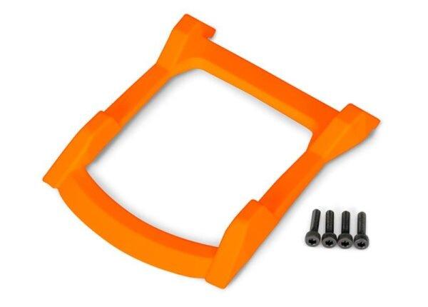 Traxxas TRX6728T Dach-Skid-Platte orange + Schrauben