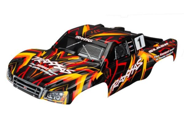 Traxxas TRX6816 Karosserie Slash 4X4 orange (lackiert)