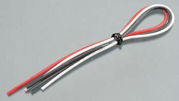 Tekin TT3041 16awg Silicon Power Wire 3 pcs 12  Red/ Blk/...