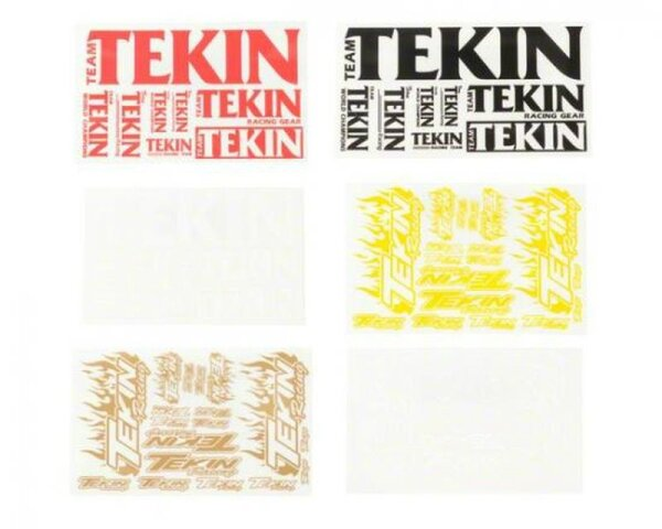 Tekin TT9700 3 x 5 sheets (6 colors)