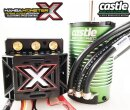 Castle Creations 010-0145-03 Mamba MonsterX 2200KV Sensor-Motor 1:8 Brushless Set wasserdicht