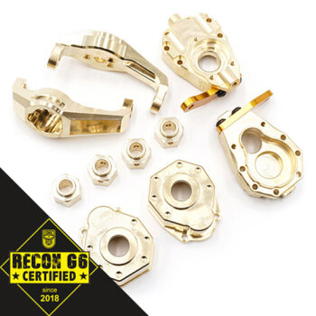 Yeah Racing YA-TRX4-S01 Upgrade-Set  Messing (324,4G...
