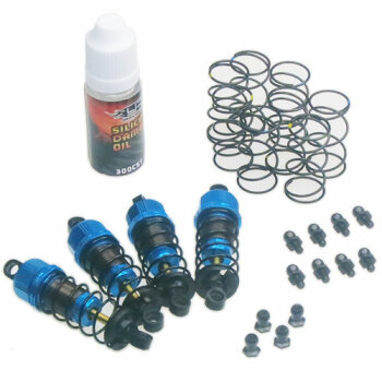 Yeah Racing YA-DSG-0060BU Shock-Gear 60mm Dämpfer-Set...